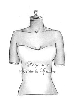 Neckline - Strapless Slight Curve